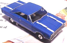 1967 Plymouth GTX HO Slot Car